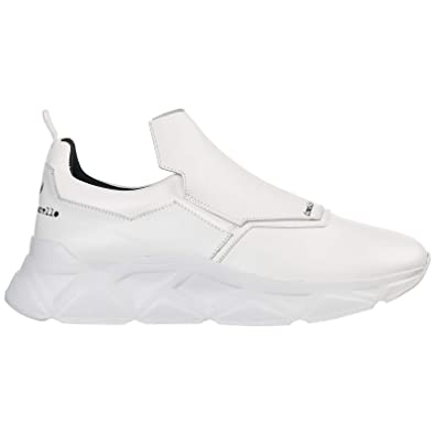 0de9bc03c671b Amazon.com | Frankie Morello Men Sneakers Bianco | Shoes