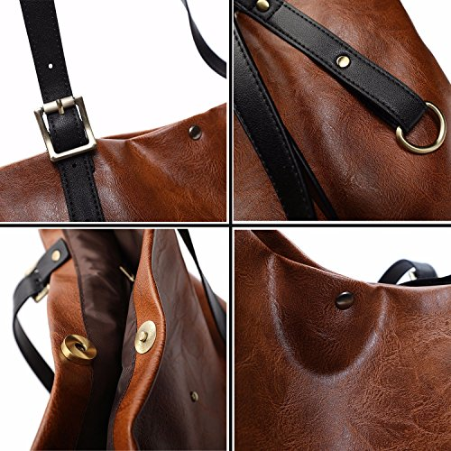 30Cm Handbag × Capacity WDBB Multifunctional Ladies Shoulder Bag Brown Large Five Fashion 36Cm Colors Bag xXqY7qPH