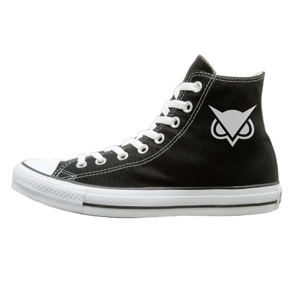 JML Unisex Classic Hoodini Vanoss Gaming Slip-On Shoes Black