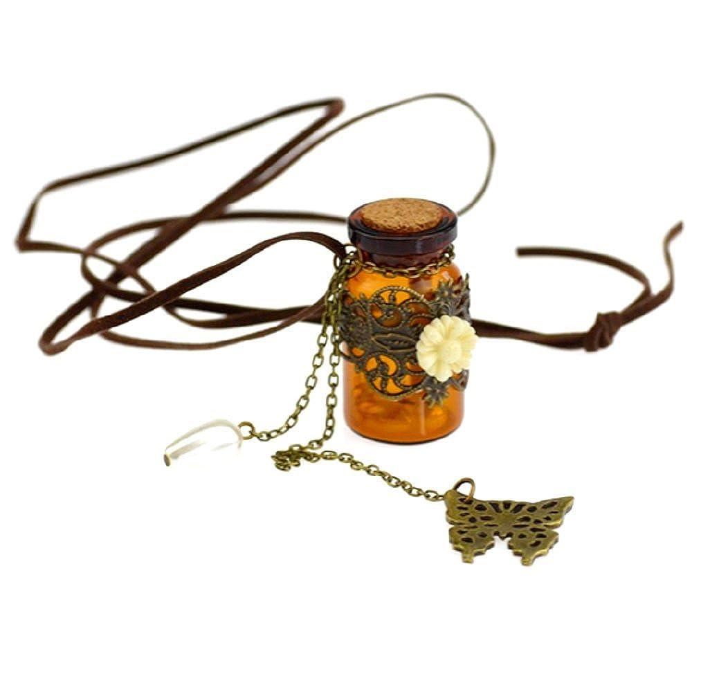 Inception Pro Infinite Collar con Colgante - Botella - Pergamino - Perlas internas 8960011272433