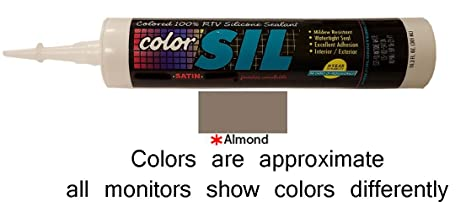 Color Matched Silicone Caulk - Southern Grouts & Mortar (39 Colors) (Almond)