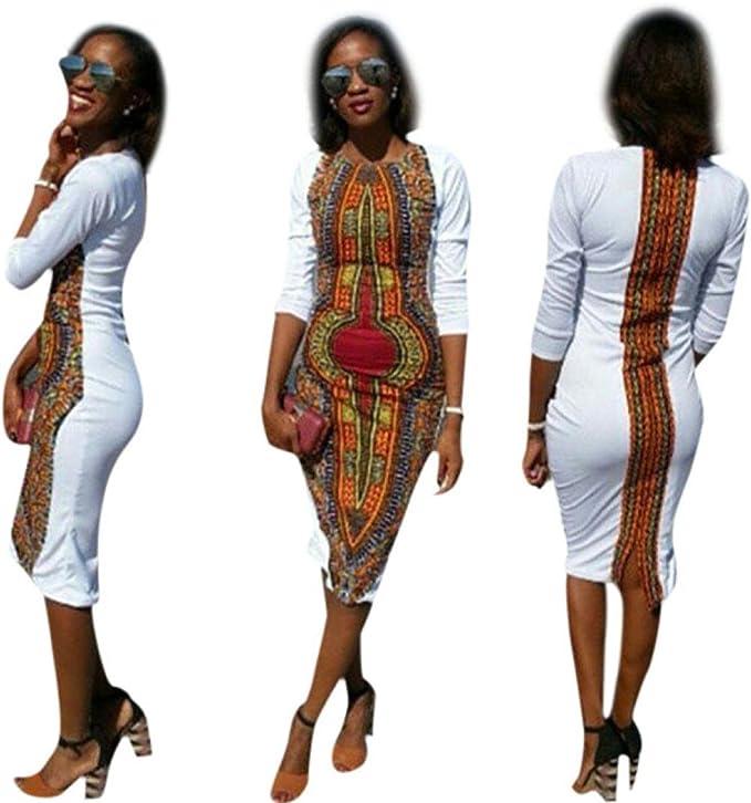 Amazon.com: GoodLock - Vestido para mujer y niña, de moda ...