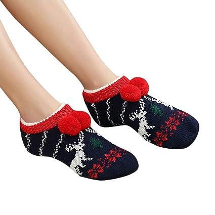 LILICAT❋ Calcetines de Piso para Adultos, Engrosamiento Antideslizante y Calcetines de Terciopelo.