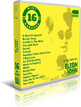 Elton John - Pendrive USB - Contiene 16 Midi Karaoke Al ...