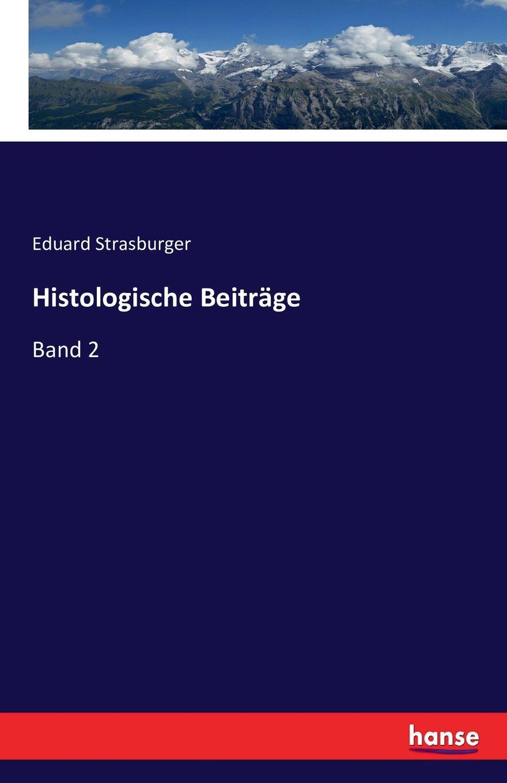 Read Online Histologische Beiträge: Band 2 (German Edition) pdf epub