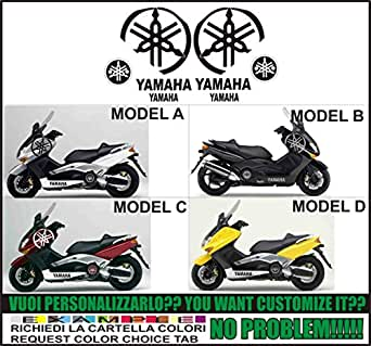 Kit adesivi decal stikers yamaha tmax big diapason (ability to customize the colors))