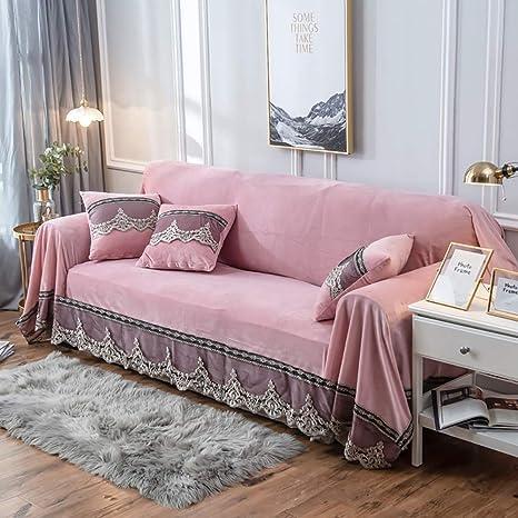 JYPHM Funda de sofá de Felpa Antideslizante, Vintage, de ...