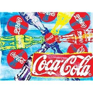 Buffalo Games Coca Cola Pop Art 1000pc Jigsaw Puzzle