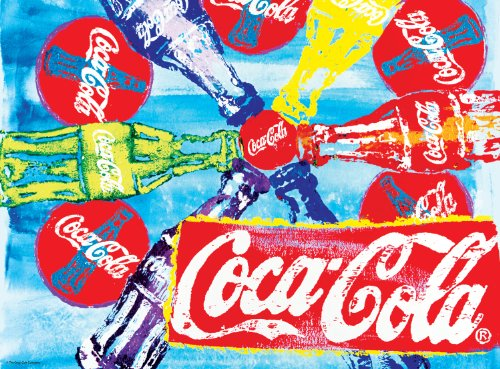 Buffalo Games Coca Cola Pop Art 1000pc Jigsaw Puzzle