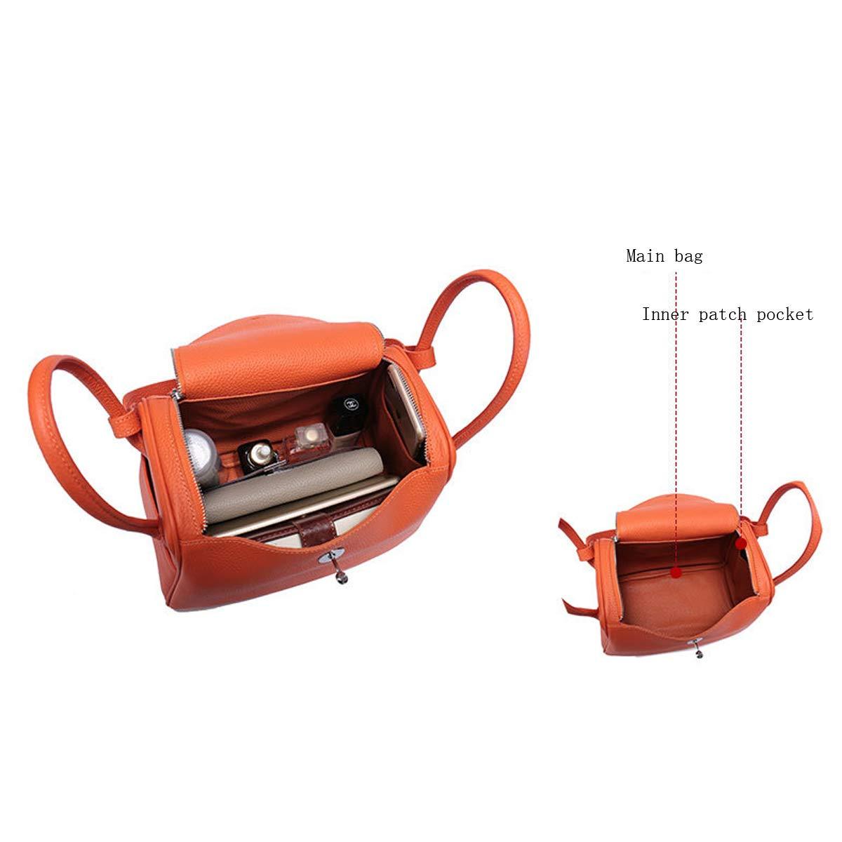 Neue hochwertige echtes leder umh/ängetasche lychee muster handtasche arzt tasche medizin tasche retro dame handtasche designer tasche mamabeutel windeltasche khaki, 28 * 16 * 20cm