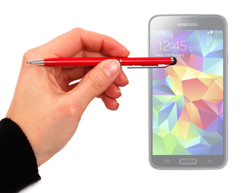 DURAGADGET s5 2つで1つSleek Mini SlimlineボールポイントペンinレッドwithスタイラスEnd for g800 Samsung Galaxy s5/ Samsung Galaxy s5 Mini (SM - g800 F) B00IXNUTWU, 貸衣裳 ぽえむ:b0f4c8d0 --- itxassou.fr
