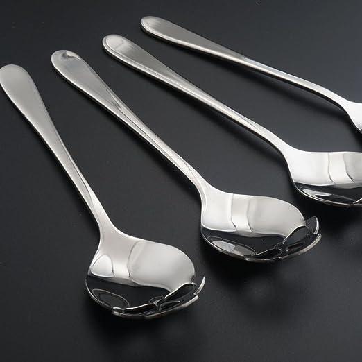Amazon.com: newkelly calavera inoxidable cuchara de acero ...
