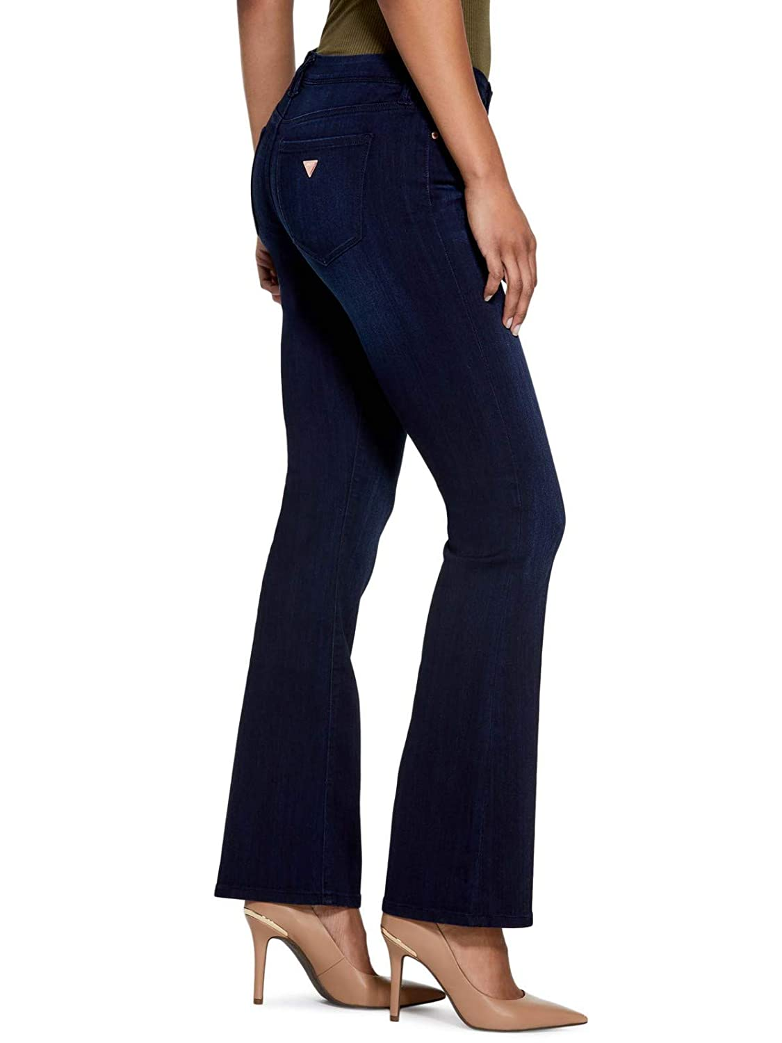 GUESS Factory Womens Lyllah Bootcut Jeans