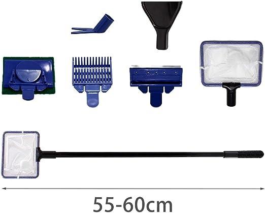 Nobleza - Kit Limpieza Acuario 5 en 1 Limpiador purificador ...