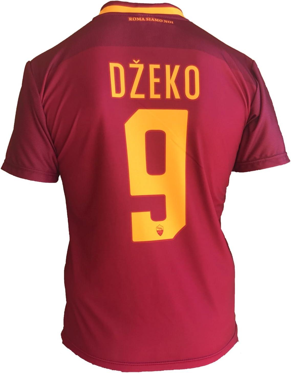 Camiseta de fútbol Roma Edin Dzeko 9, réplica autorizada, 2017 ...