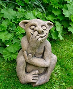 Superb Large Garden Troll   Unusual Garden Ornaments / Statues