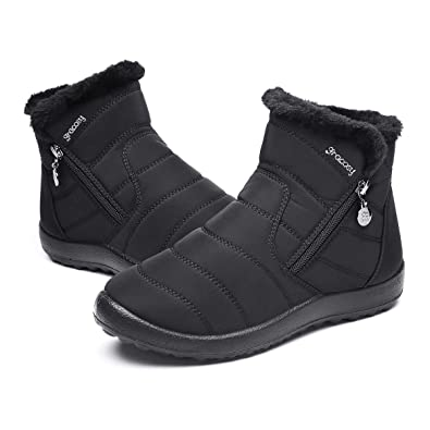4ae7669bd9587 gracosy Warm Snow Boots