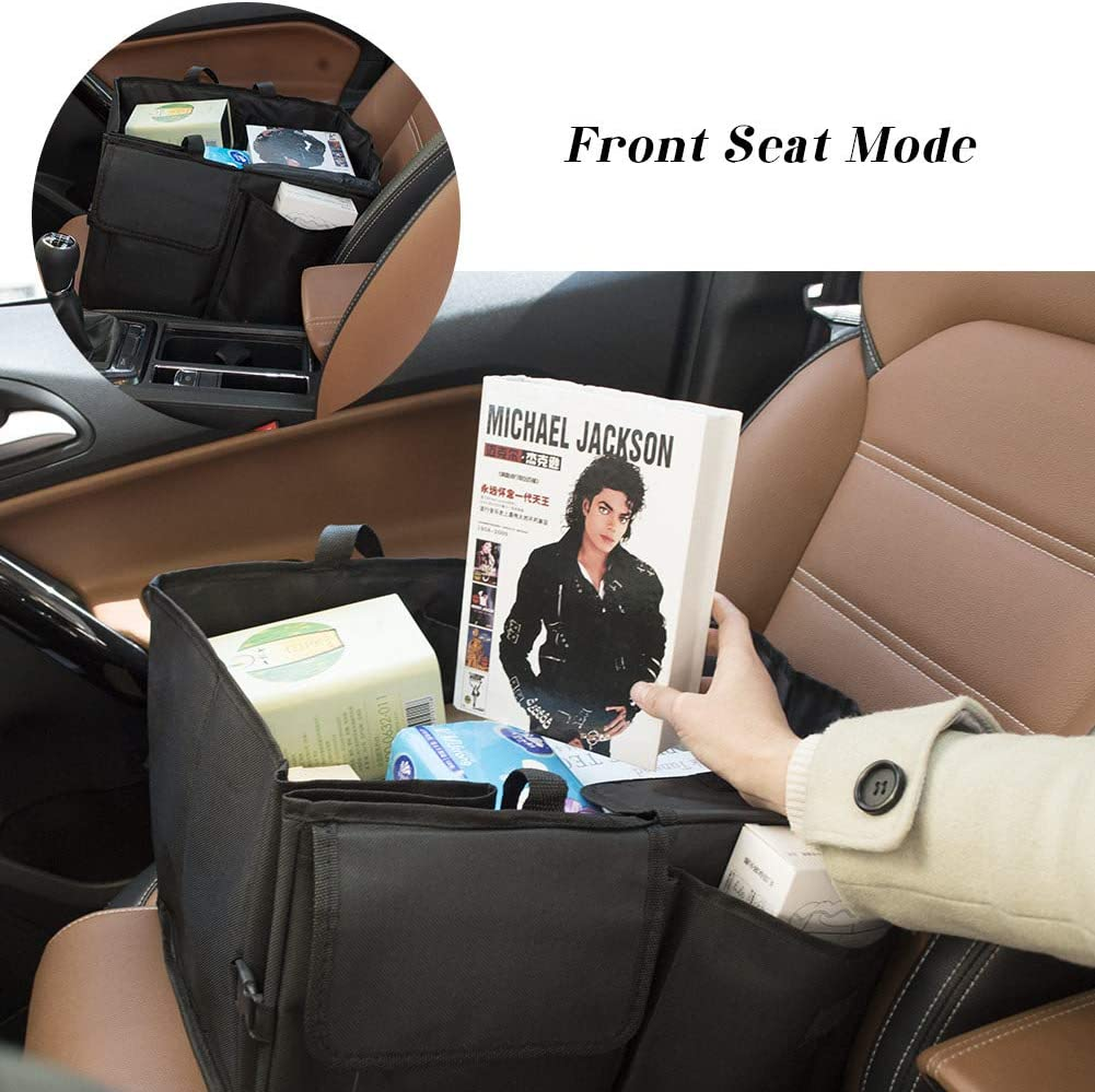 Car Back Seat Protector with Tablet Holder Kick Mats Car Back Seat Protector 6 Storage Pockets for Kids Toy Bottle Drink Vehicles Travel Accessories jiatushuma Backseat Car Organizer 2 Pack