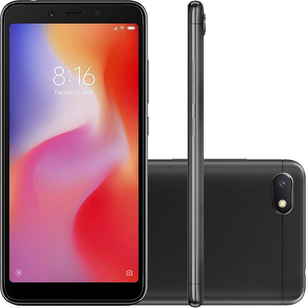 Xiaomi Redmi 6A Dual SIM 32GB 2GB RAM Black [versión importada]