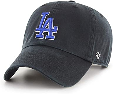 47 Brand Los Angeles LA Dodgers MVP Hat Cap Two-Tone Royal Blue//Grey