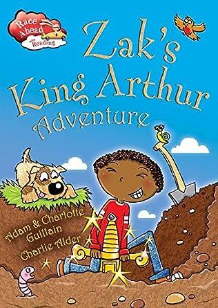 book cover of Zak\'s King Arthur Adventure