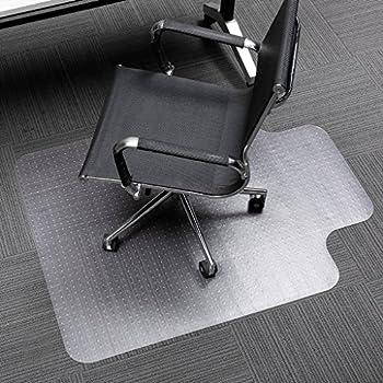 Amazon Com Slypnos 36 Quot X 48 Quot Clear Pvc Chair Mat With