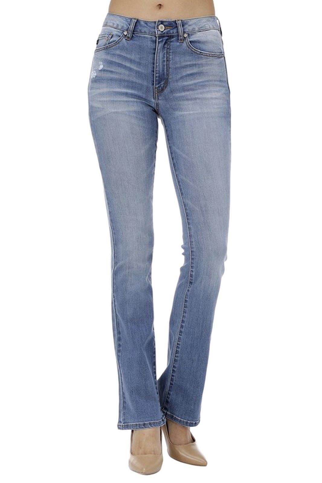 78708f3ca08d6 KAN CAN Women's High Rise Bootcut Jeans KC7111 - Denim Fit