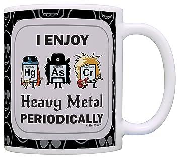 Amazon funny science gifts i enjoy heavy metal periodically funny science gifts i enjoy heavy metal periodically periodic table gift coffee mug tea cup black urtaz Images