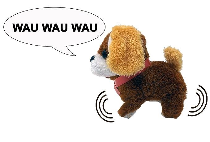 Peluche perro con función - Encender y el cachorro bellt y ...
