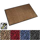Entry Rugs casa pura Anti-Static Entrance Mat  Indoor and Outdoor Front Door Mat  Entry Rug for Home and Business  Beige  36