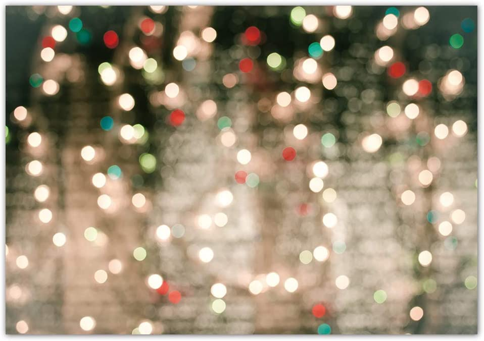 CSFOTO 7x5ft Backdrop Glitter Bokeh Photography Background Birthday Party Banner New Year Festival Celebration Kids Baby Adult Goods Portrait Photo Booth Studio Video Props Wallpaper