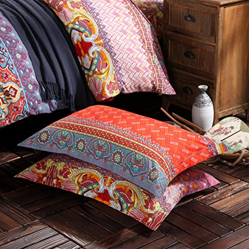 Lelva Country Style Bedding Sets Bohemian Style Bedding