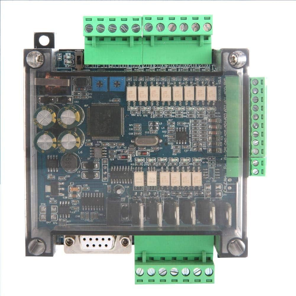PLC Industrial Control Board Industrial Equipment Accessories Industrial Control Board FX3U-14MT Analog 6AD+2DA 24V 1A