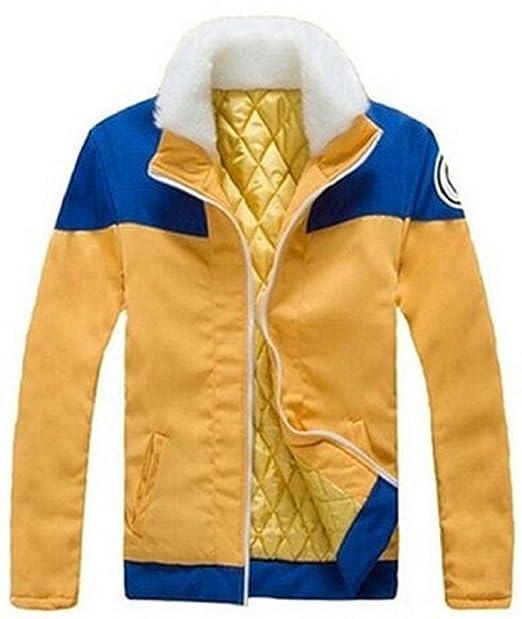 Naruto Uzumaki Thicken Sudaderas con capucha abrigo chaqueta de Cosplay disfraz: Amazon.es: Ropa y accesorios