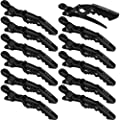 xtava Styling Hair Clips for Women - Set of 12 Professional Hair Clips with Hair Styling and Sectioning Clips - Wide Teeth & Durable for Hair Salon Quality Results - Hair Accessories for Women