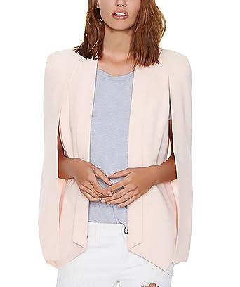 Mujer Blazer Talla Grande Único Elegantes Blazers Negocios Office Wear Tumblr para Boda Fiesta Outcoat Celebración