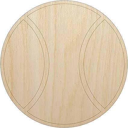 Half Circle Wood Unfinished Cutout Laser Cut DIY Craft