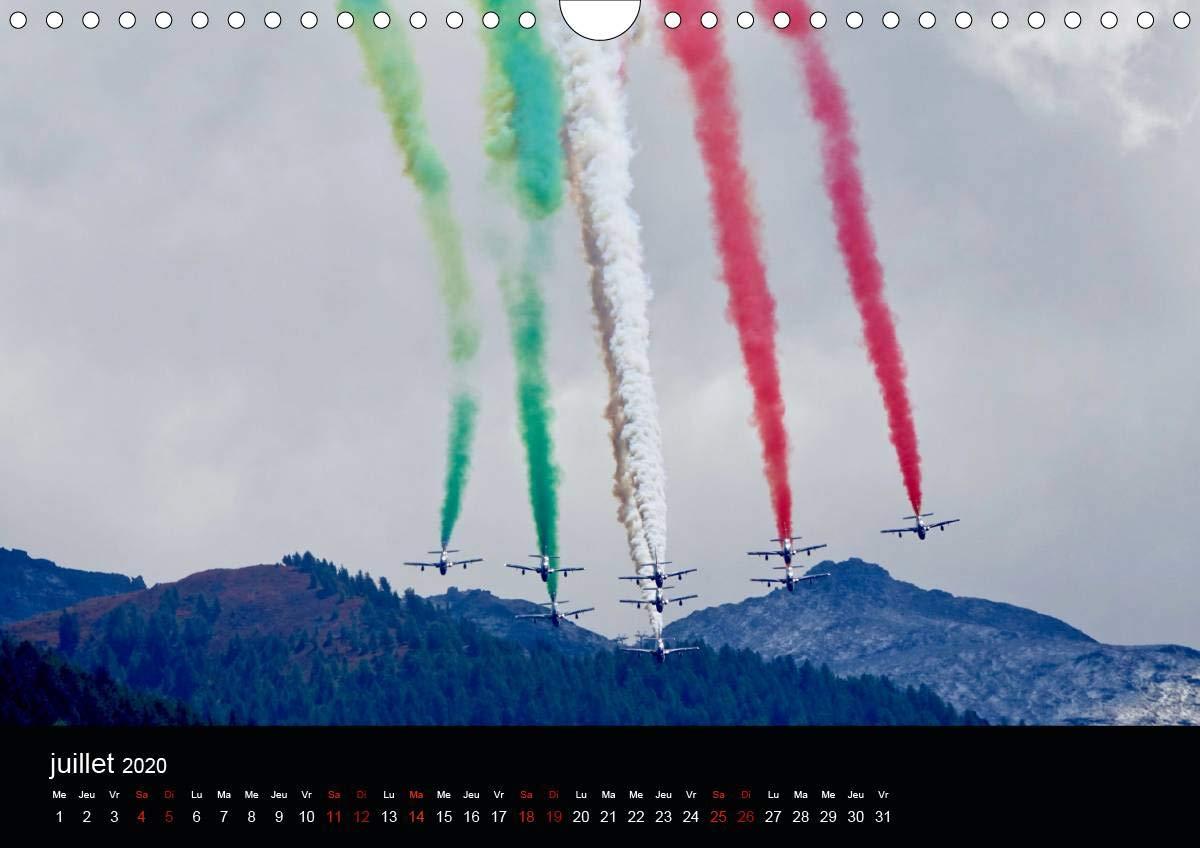 Calendario Frecce Tricolore 2020.Les Frecce Tricolori Calendrier Mural 2020 Din A4 Horizontal