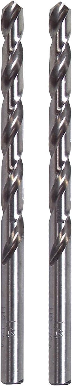 2-Pack Vermont American 10193 5//64-Inch HSS Jobber Drill Bit
