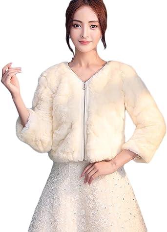 chaqueta mujer boda pelo