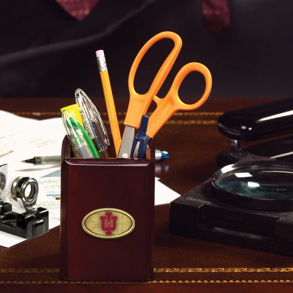 One Size Multicolor Memory Company NCAA Indiana University Pencil Holder