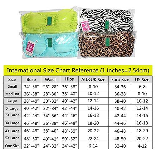Sidiou Group Bañador seductor de alta gama de una pieza con leopardo & cebra, traje de baño de 80% nylón, Bañador de una pieza Estampado de leopardo