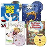 3 years & up. Each of these stories include colorful illustrations, rhyme, and repetition, making it easy to enjoy and follow along. Books include: Duck on a Bike, Giraffes Can't Dance, Alice the Fairy, and Is Your Mama a Llama? Each book...