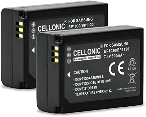 NX1000 2x Batería para Samsung NX300