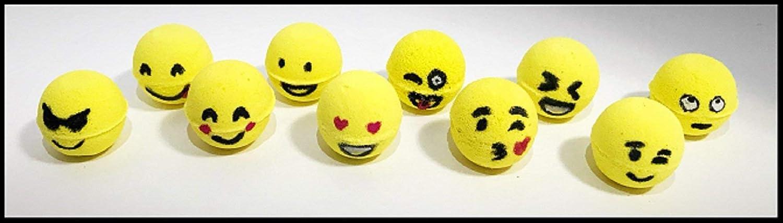 Emoji Mini Bath Bombs - Box of 10