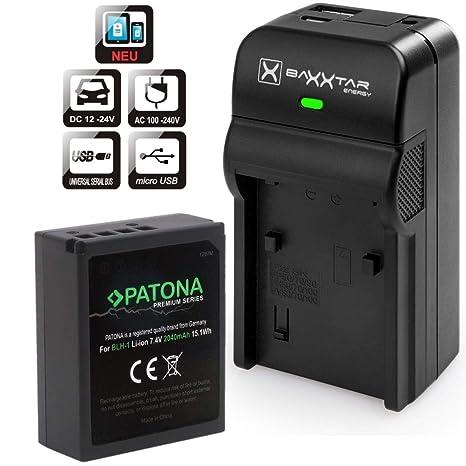 Patona Premium - Batería de Repuesto para Olympus BLH-1 ...