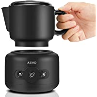 AEVO Milk Frothing Machine, Automatic Electric Milk Warmers and Foam Maker, Dishwasher Safe Detachable Pitcher, Milk…
