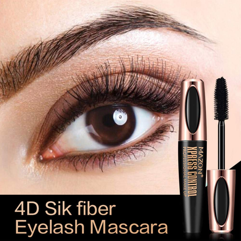 Aviat 4D Fiber Mascara Abundance Eyelash Extension Long Curling Makeup Eye Lashes Brush Extend Beauty Tubes Lengthening Cosmetic