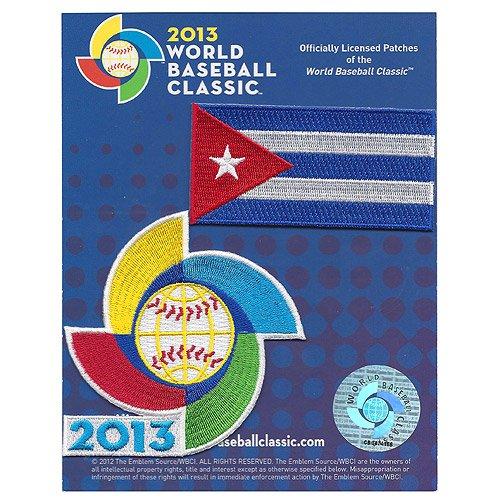 UPC 813300014826, Cuba 2013 World Baseball Classic Patch Pack