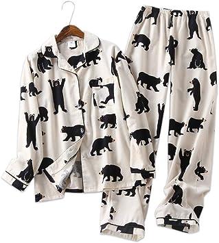 DHLFHRTISH Pijama 100% algodón Juegos de Pijamas de ...
